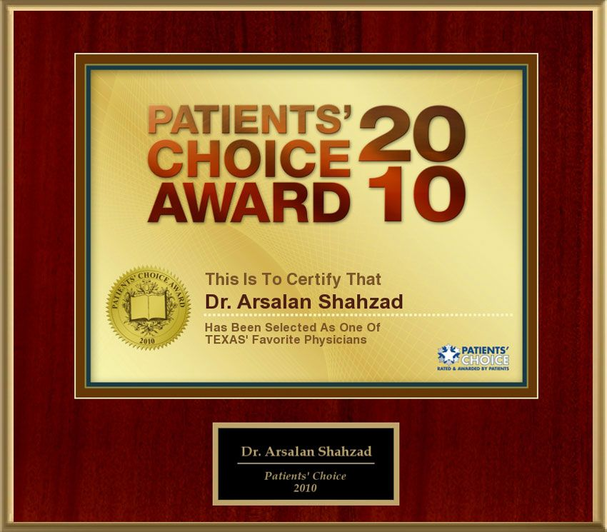 Patients Choice Award 2010
